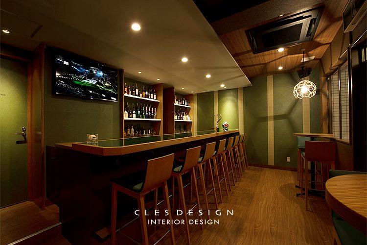 HALFTIME飲食店の内装設計