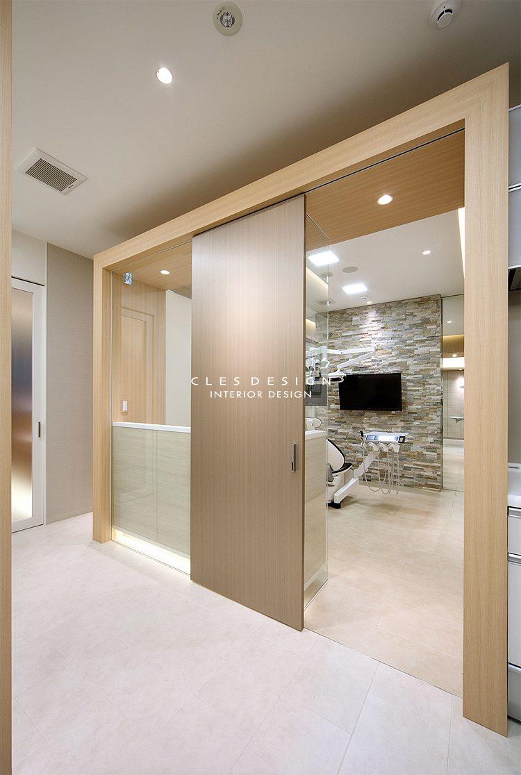 かわい歯科クリニック個室デザイン